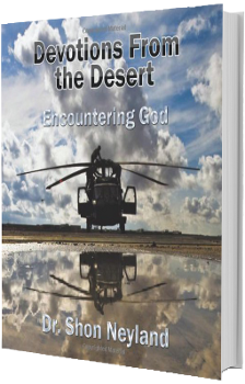 Available at Amazon Devotions From the Desert Encountering God book Shon Neyland